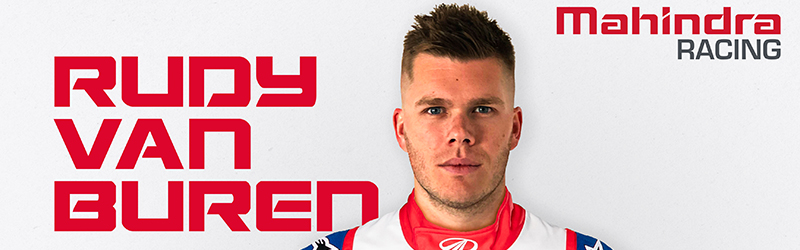 WORLD'S FASTEST GAMER RUDY VAN BUREN JOINS MAHINDRA RACING