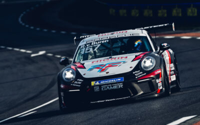 P10 for Rudy van Buren in Porsche Carrera Cup Germany after wet Le Mans opening