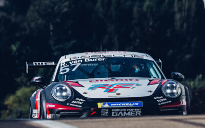 RUDY VAN BUREN DISPLAYS FIGHTING SPIRIT EN ROUTE TO TRIO OF TOP EIGHT FINISHES IN PORSCHE CARRERA CUP DEUTSCHLAND